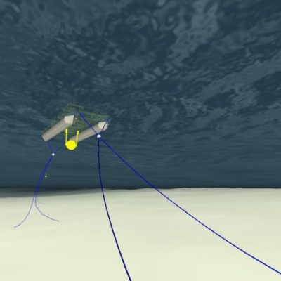 Image of the ecoSpray mooring lines