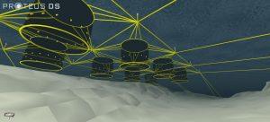 dynamic simulation of an aquaculture farm mooring lines
