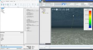 PostPDS simulation of a surface buoy mooring