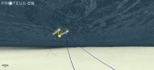 dynamic simulation of mooring lines on the ecoSPRAY tidal platform