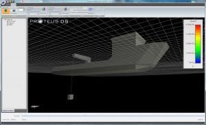 ProteusDS simulation - ship payload