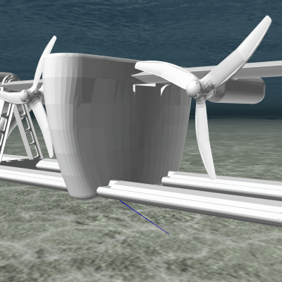 Image of Sustainable Marine Energies PLAT-O#2 tidal energy Platform