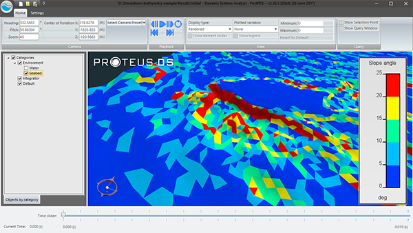Image of powerful bathymetry analysis features in PostPDS