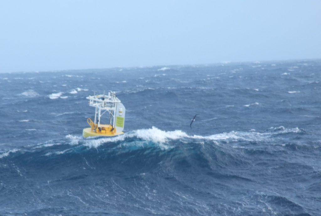 SOFS buoy in ocean waves