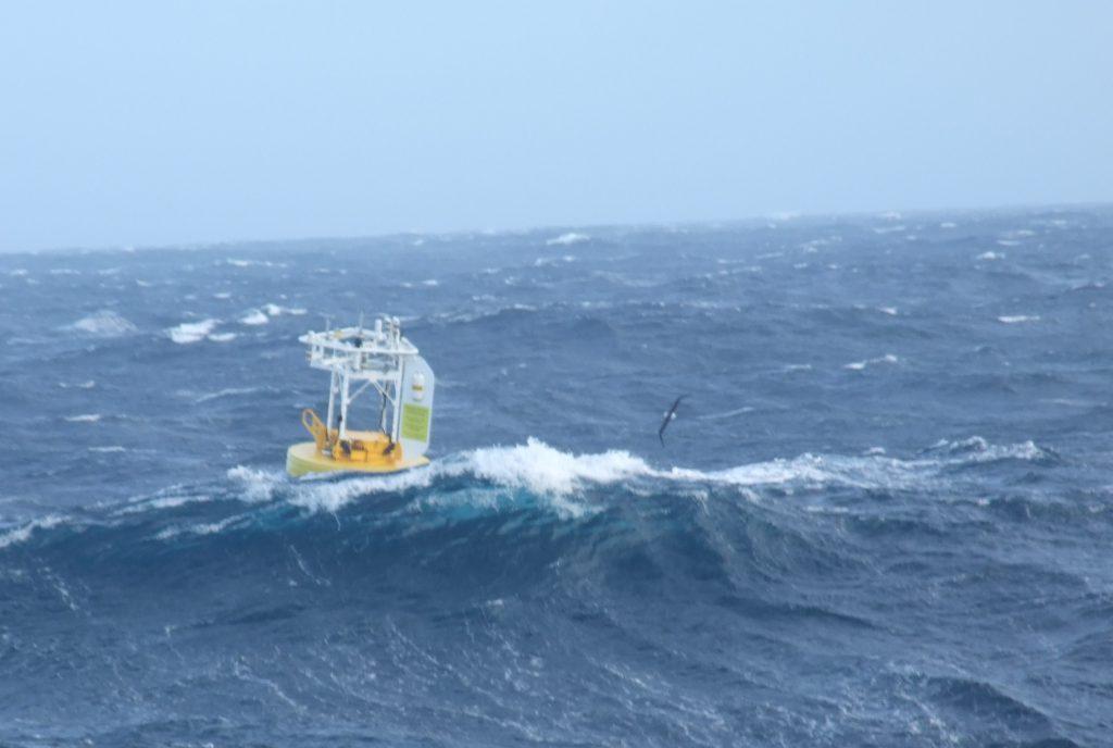 SOFS buoy in ocean waves